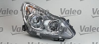 VALEO Feux principal Sx, H1, W5W, PY21W,H7, Projecteur SX Opel Corsa D 07/2006>