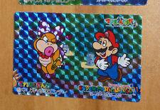 SUPER MARIO WORLD BANPRESTO CARDDASS CARD PRISM CARTE 13 NITENDO JAPAN 1993 **