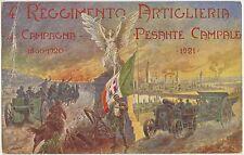 4° REGGIMENTO ARTIGLIERIA PESANTE CAMPALE 1923