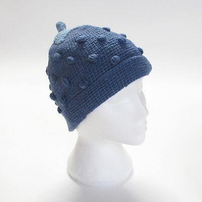 Hand Knitted Fragola Stile Invernale Di Lana Beanie Cappello, Taglia Unica, Unisex Sth14-mostra Il Titolo Originale Bianchezza Pura