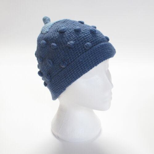 One Size Hand Knitted Strawberry Style Winter Woollen Beanie Hat UNISEX STH14