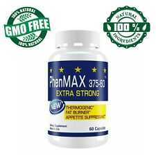 PhenMax  Diet Pills for Weight Loss  1305mg Appetite Suppressant Fat Burner
