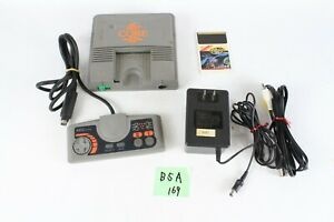 NEC PC Engine PI-TG7 silver Console System  Japan Tested Working B5A
