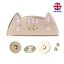 Cute Cat Magnetic Clasp Fastener with Press Studs UK Stock