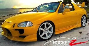 Image Is Loading NEW 93 97 Honda Del Sol Vader Style