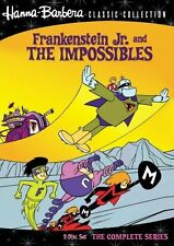 Frankenstein Jr The Impossibles Complete Series DVD Set TV Animated Cartoon Lot