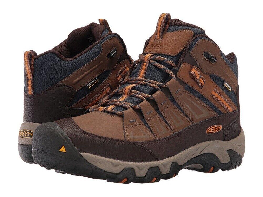 Keen Men's Oakridge Mid Polar Insulated WP Winter Boots hiking shoes