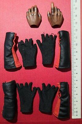 Gloved Hands for Art Figures AF021 1//6 Scale Action Figure