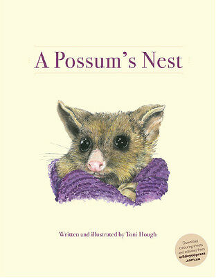 A Possum's Nest by Toni Hough Artwork by Toni Hough - Australian Books,English
