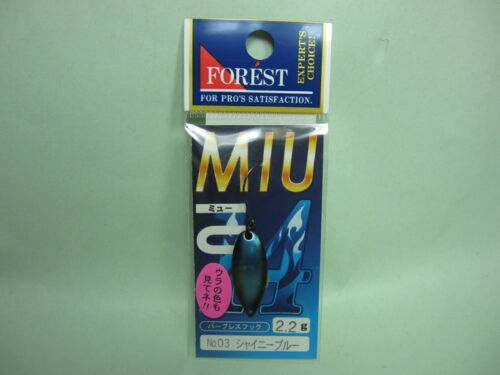 30003 Restock FOREST MIU 2014 LIMITED 2.2g Trout Spoons Color variations