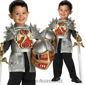 CK714-Knight-Of-The-Dragon-Roman-Medieval-Warrior-Kids-Boys-Fancy-Dress-Costume