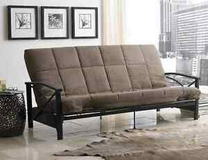 DHP 6 Full Size Quilted Top Soft Cushion Replacement Futon Sofa Bed Mattress