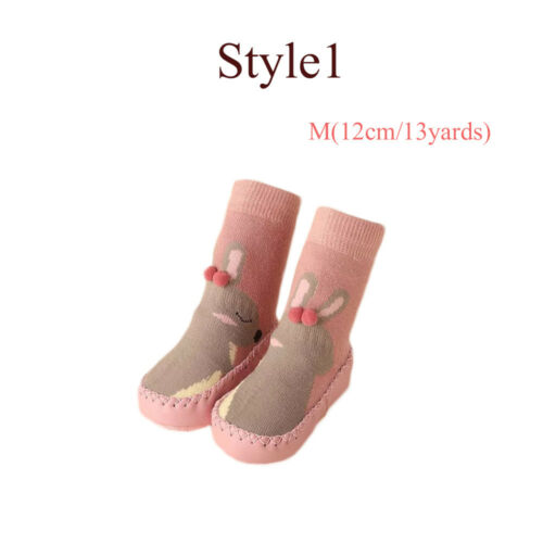 Infant Care Baby Shoes Flats Soft Slippers Toddler Indoor Sock Kids Booties