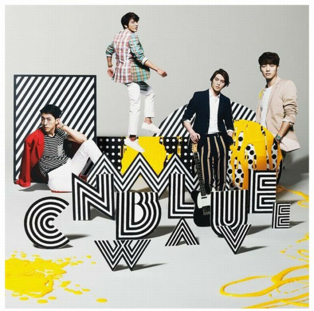 CNBLUE Japan 3rd Album [WAVE] Type B (CD + DVD) Limited Edition