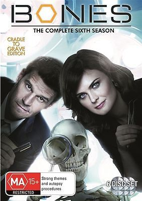 Bones : Season 6 (DVD, 2011, 6-Disc Set)