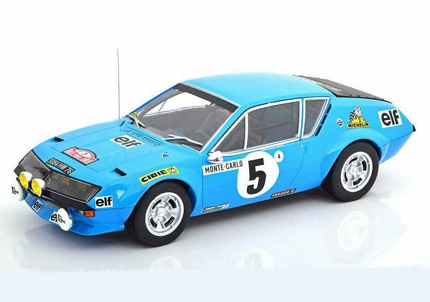 Renault Alpine A310  5 Rally Monte Carlo 1975 Therier 18RMC036A IXO 1 18 New