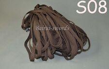 4 Meter Brown Tsuka ito&Sageo Wrapping Cord for Samurai Sword Katana Wakizashi