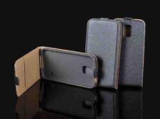 % FLEXI Handy Tasche Hülle Grau-Anthrazit Schutzhülle Samsung Galaxy Ace NXT