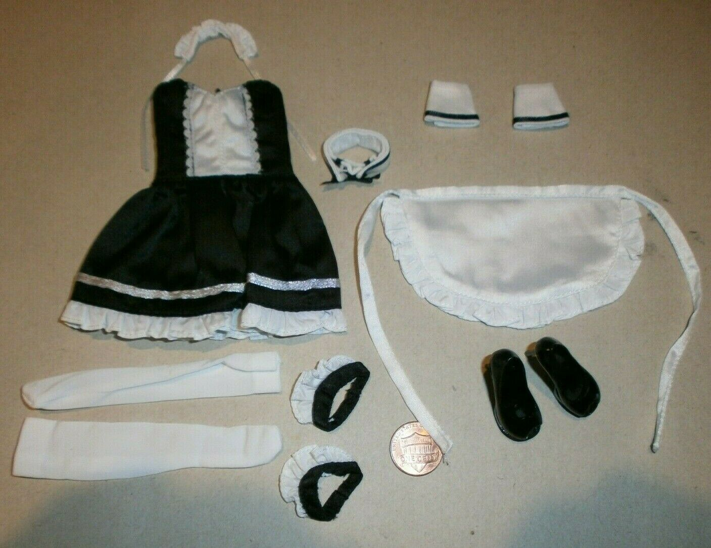 Super Duck French Maid Outfit for 1 6th scale female action figure