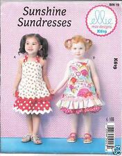 Kwik Sew K3035 Pattern Infants Sundress Shortalls /& Hats S-XL BN Bloomers