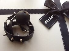 bondage kit leather ball gag fetish 50 shades drool restraint HARDWEARING
