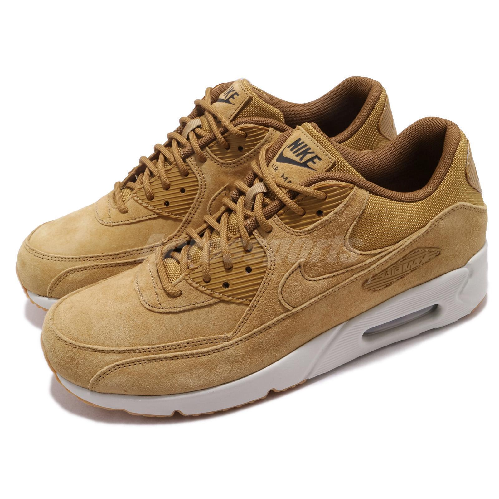Nike Air Max 90 Ultra 2.0 LTR Wheat Light Light Light Bone Men Running shoes 924447-700 e59b8a