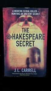 The-Shakespeare-Secret-by-J-L-Carrell-A-Modern-Serial-killer-480-pages