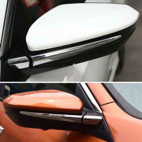 For Honda Civic 2016-2018 Side Wing Rearview Mirror Chrome Cover ABS Trim Strip