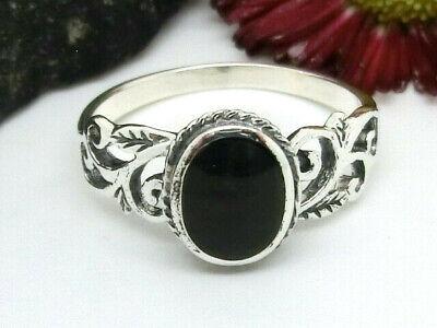 Asymetrischer Silber Ring 925 Stein Durchbruchmuster Ranken Spiralen Damenring