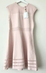 NWT-Ted-Baker-London-Aurbray-Sleeveless-Knit-Skater-Dress-Pink-5-12