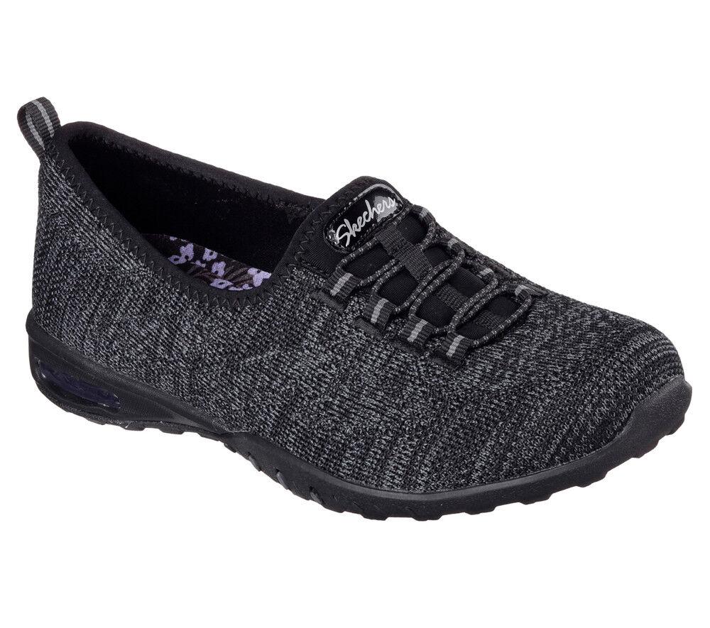 NEU NEU NEU SKECHERS Damen Sneakers Turnschuh Memory Foam EASY-AIR  IN-MY-DREAMS Schwarz b3cb19