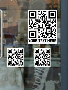 20x Mini Qr Code De Site Web/ou Texte Imprimé Couleur Pleine Promotionnel Stickers-afficher Le Titre D'origine Remise En Ligne
