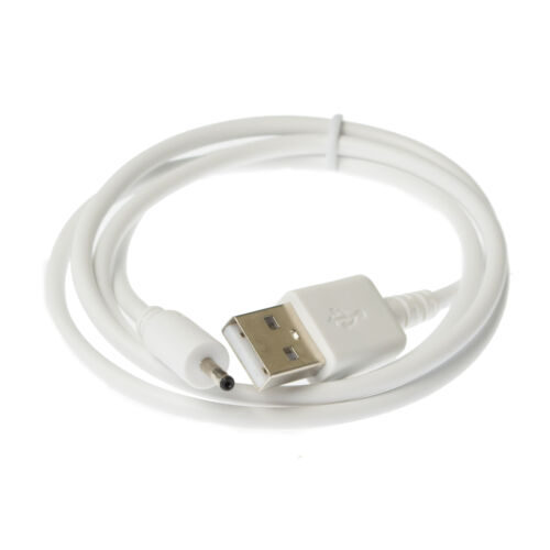 90cm USB White Charger Power Cable for BT Video 1000 Parent/'s Unit Baby Monitor