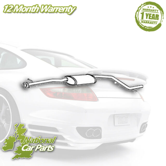 Ford Mondeo Mk3 2.0 TDCi  2000 to 2006 Exhaust Centre Middle Silencer Pipe