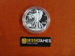 2013-W-ENHANCED-UNCIRCULATED-SILVER-EAGLE-FROM-WEST-POINT-SET-ONE-COIN-IN-CAP