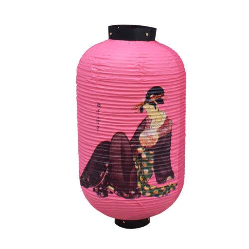 Lampion Haus Fest Eingang Deko Papier Japanisch Stil Schönheit Muster Mehrfarbig