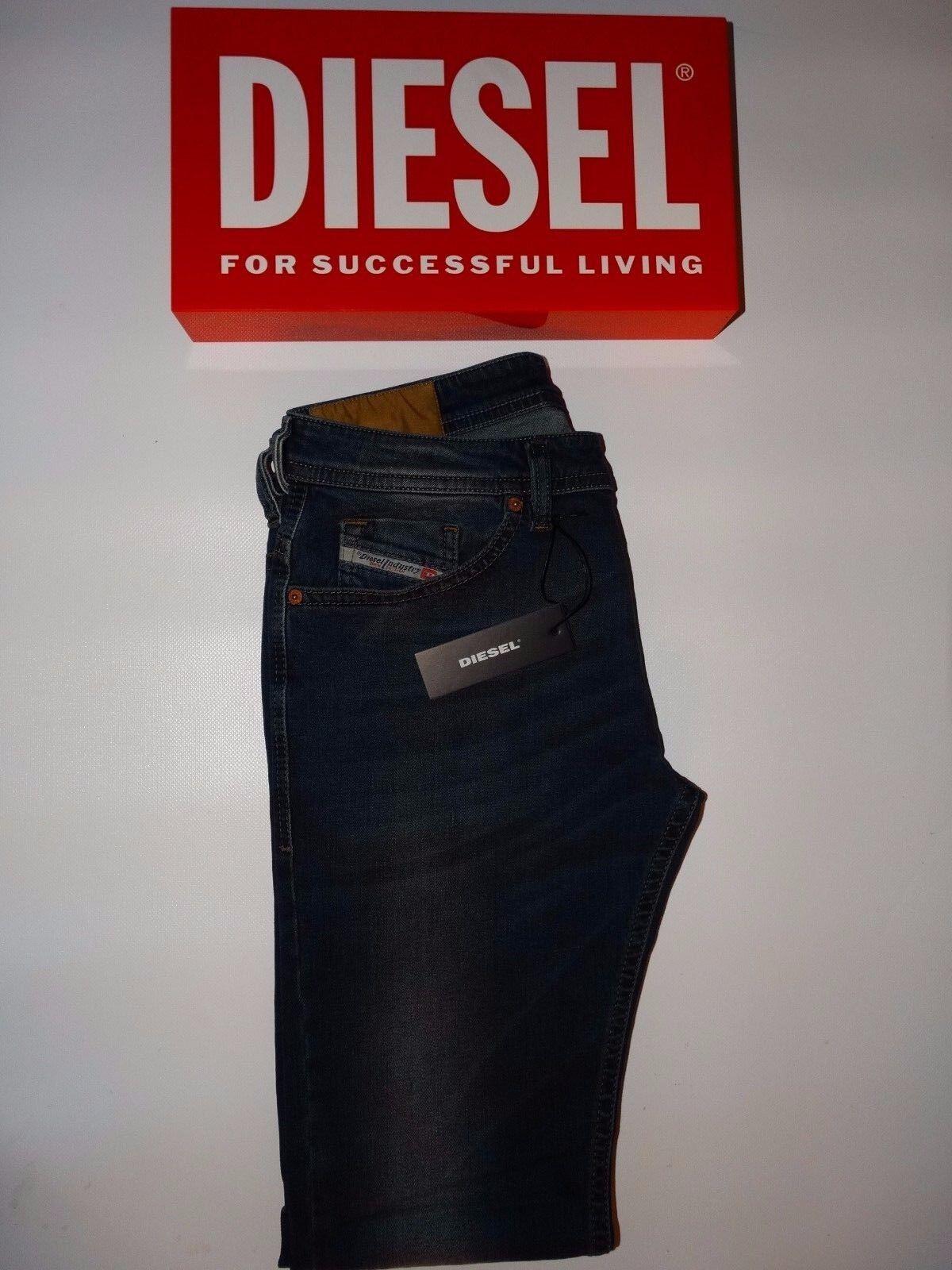 DIESEL Jeans-thommer-Skinny Fit - 084BU (STRETCH) - Nuovo con Etichetta