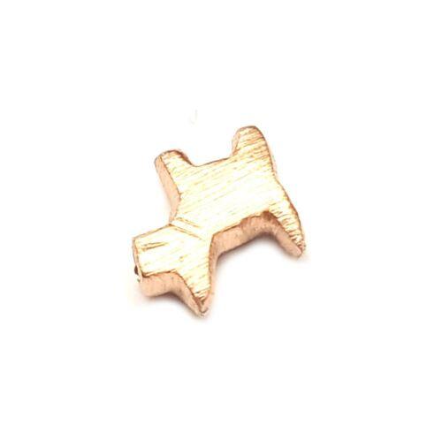 925 Sterlingsilber Zwischenperlen Roségold vergoldet Perlen