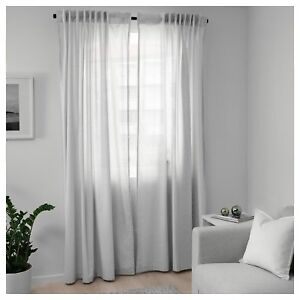 Ikea Curtains and Blinds Bedroom Living Room Window Sheer ...