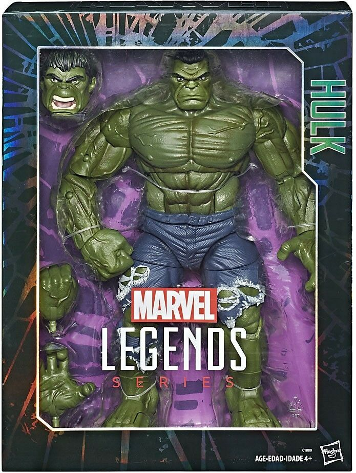 Marvel Legends Hulk Deluxe Collector Action Figure