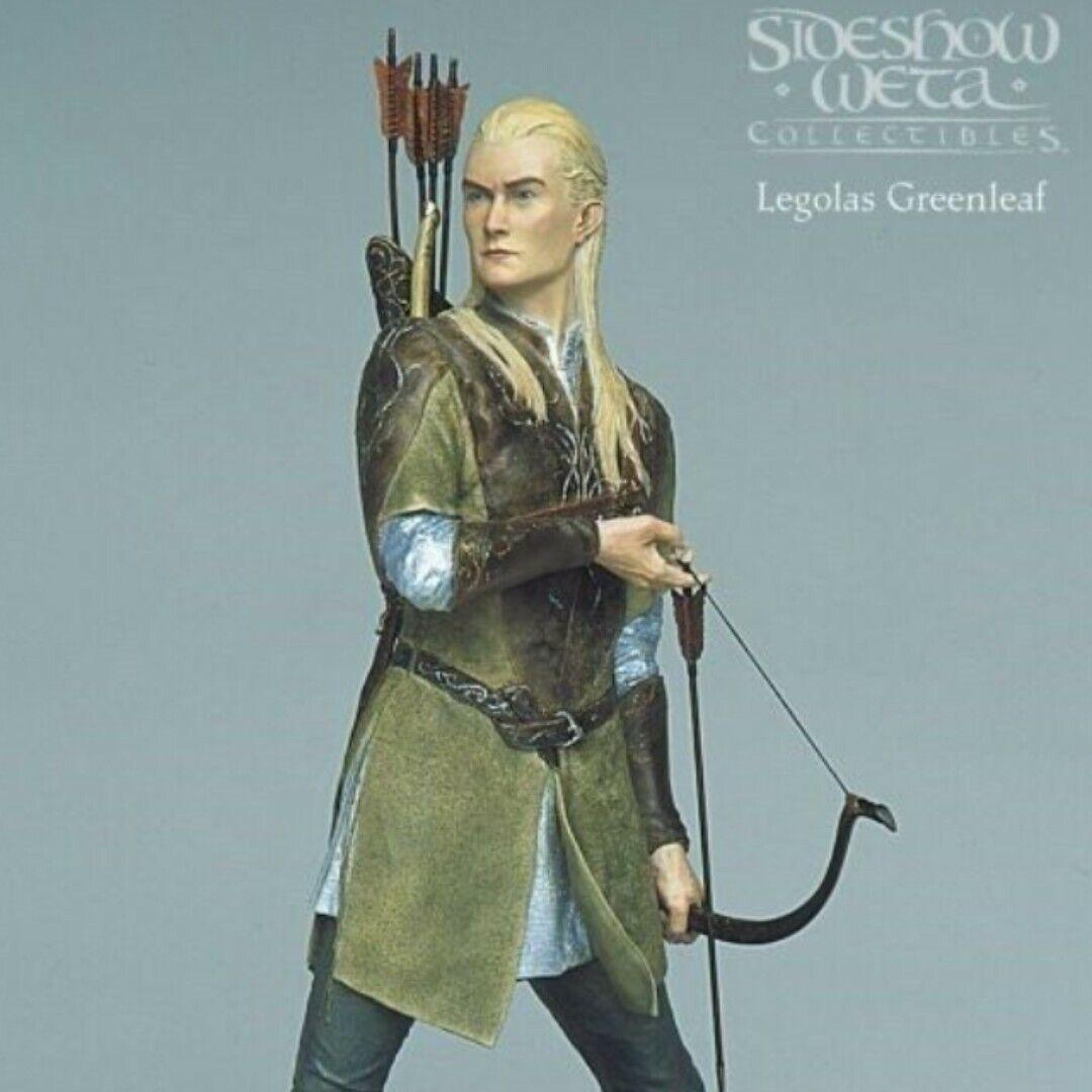 Señor De Los Anillos Legolas verdeleaf    Sideshow Estatua Weta  Sin Usar, En Caja