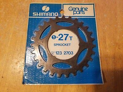 Active Nos Shimano 27t Freewheel Replacement Sprocket Black Finish 123 2703