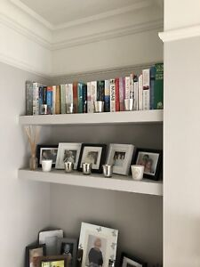 wholesale dealer 5947b 46972 Details about Alcove Floating Shelf Kit- Chunky, Width 800mm to 1150mm