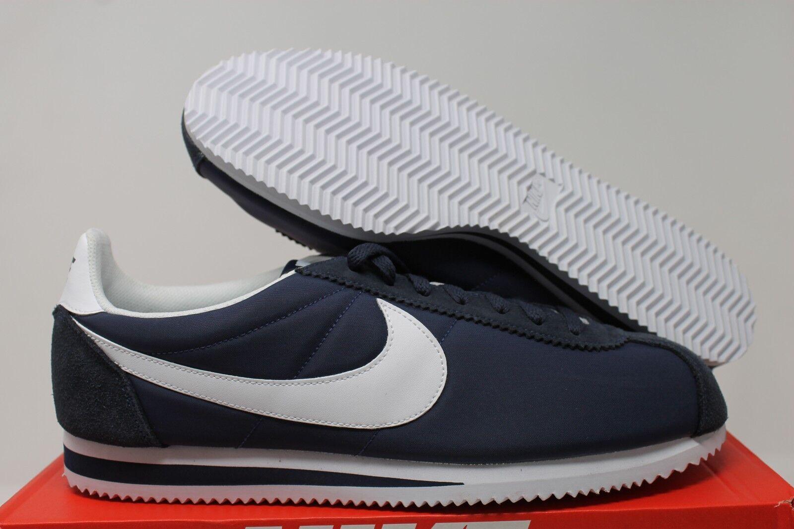 18f4b577bfb Nike Classic Cortez Nylon Men Lifestyle Casual SNEAKERS Obsidian ...