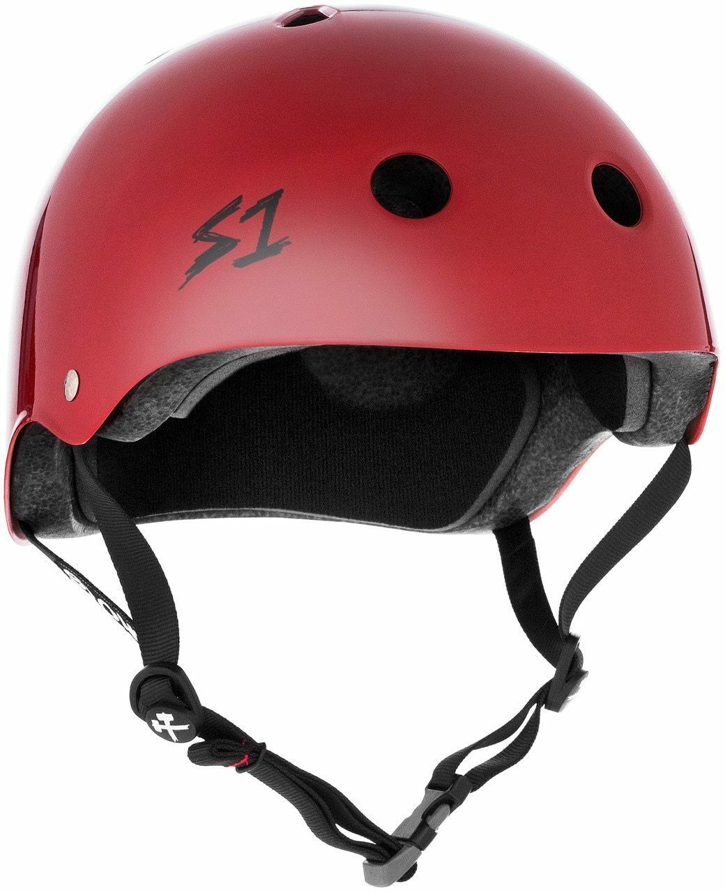 S1 Mega Lifer Helmet -  Scarlet Red Gloss  70% off cheap