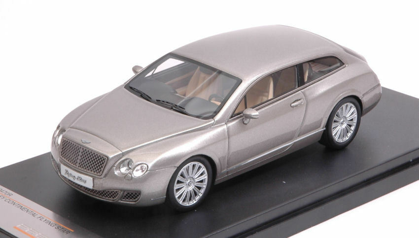 Bentley Continental Flying Star 2010 gris 1 43 Model PREMIUMX