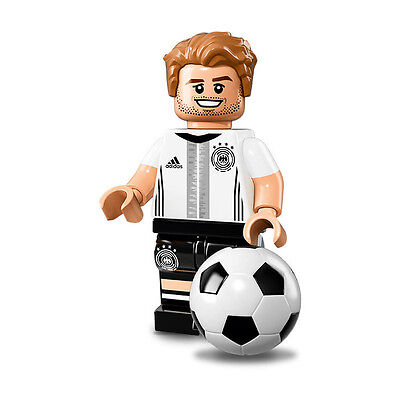 NEW LEGO MINIFIGURES DFB Mats Hummels #5 SERIES 71014 German Soccer Team