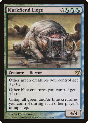 Murkfiend Liege Eventide NM Blue Green Rare MAGIC THE GATHERING CARD ABUGames