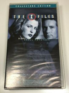 The-X-Files-Collectors-Edition-VHS-Video-Tape-2-Titles-HOME-SMALL-POTATOES
