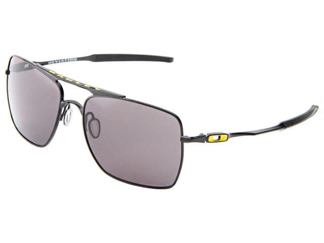 Oakley Deviation Sunglasses Vr46 Polished Black warm Grey Aviator Military 68ecb574a